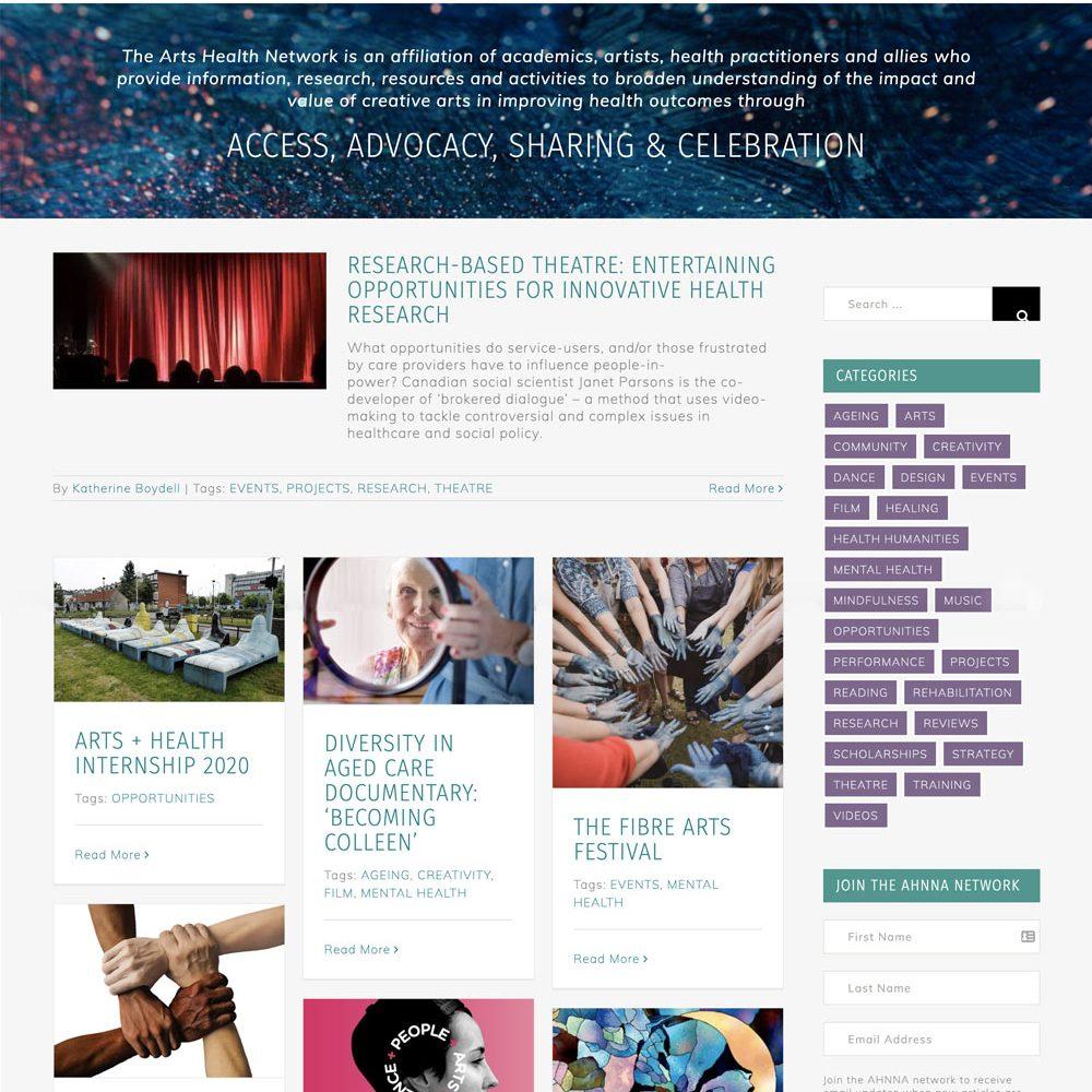 AHNNA website